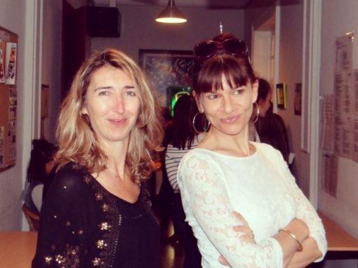Florence Gaudry et Virginie Courau de l'Accent français