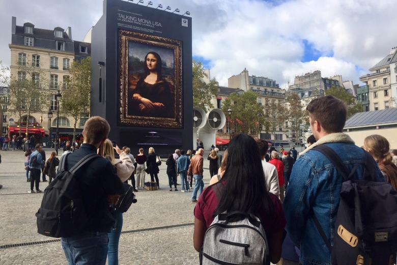 École Suisse de Paris - Excursion en ville