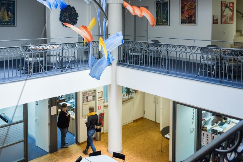 École Suisse de Paris - Locaux intérieurs