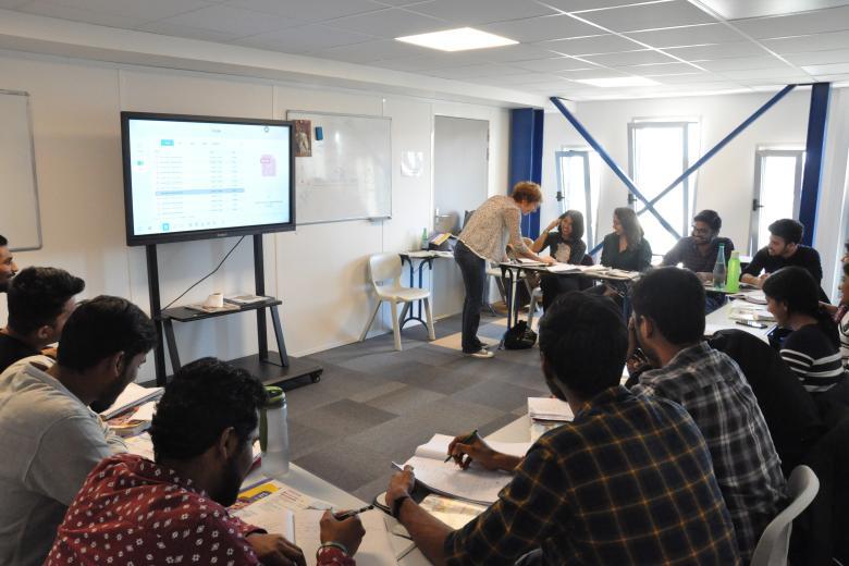 Centre FLE EPITA - Salle de classe de français