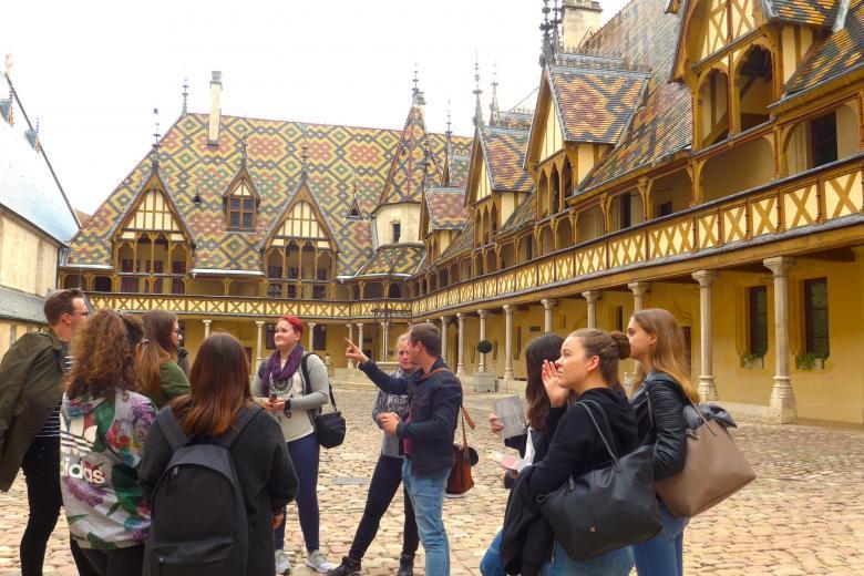 École Suisse de Dijon - Visite de Beaune