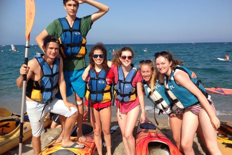 École Français Immersion Loisirs - Activité Kayak