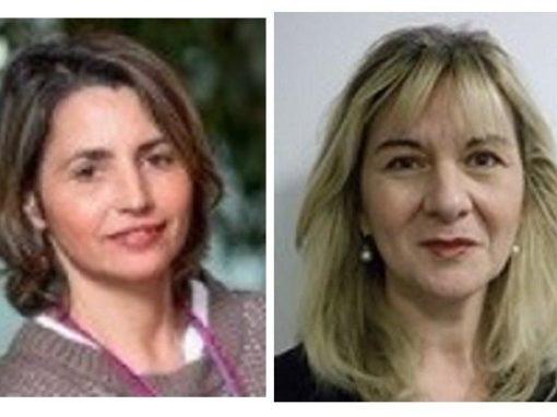 Maria Belha et Serena Rovai de l'IEF à La Rochelle