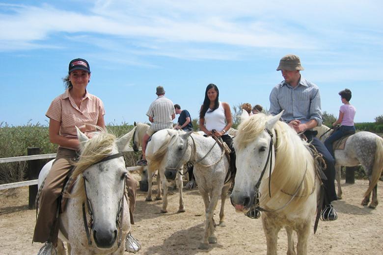 Institut Linguistique Adenet - Sortie cheval de Camargue
