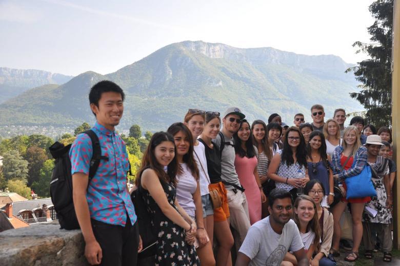 École ILCF - Excursion à Annecy