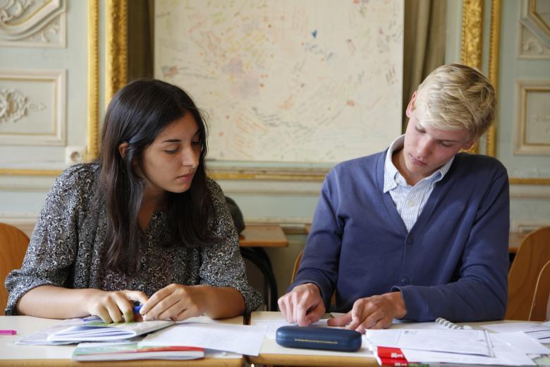 Institut de Touraine - En classe de français