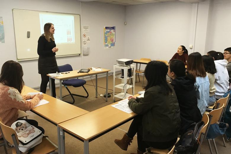 École ISPA Amiens - Cours de Français Langue Etrangère