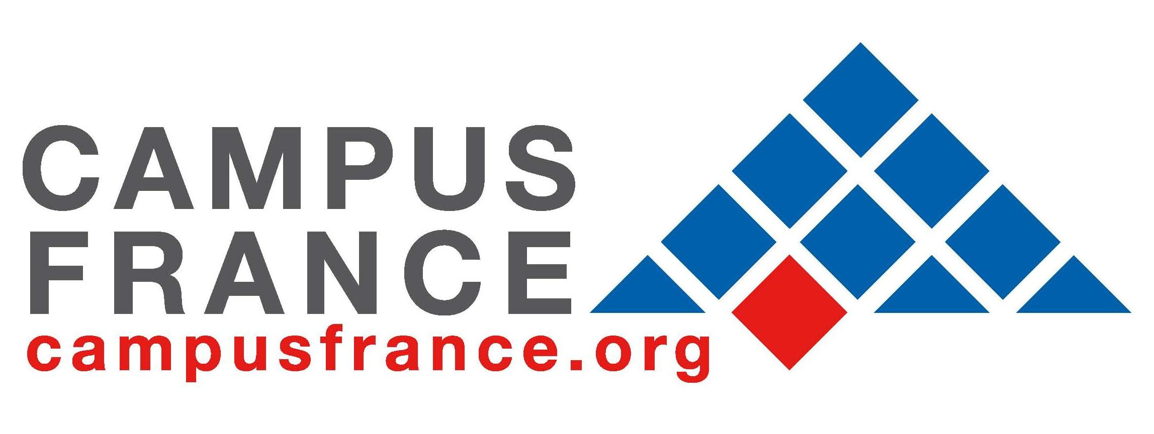 Logo de Campus France, partenaire