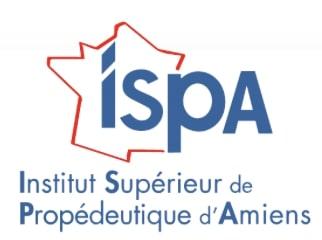 Logo de l'ISPA, à Amiens