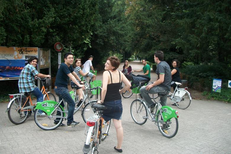 Institut Stralang - Balade à vélo