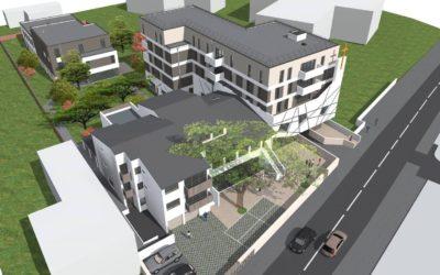 Les Cèdres – The construction project