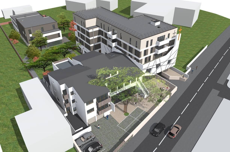 École Les Cèdres - Futur bâtiment
