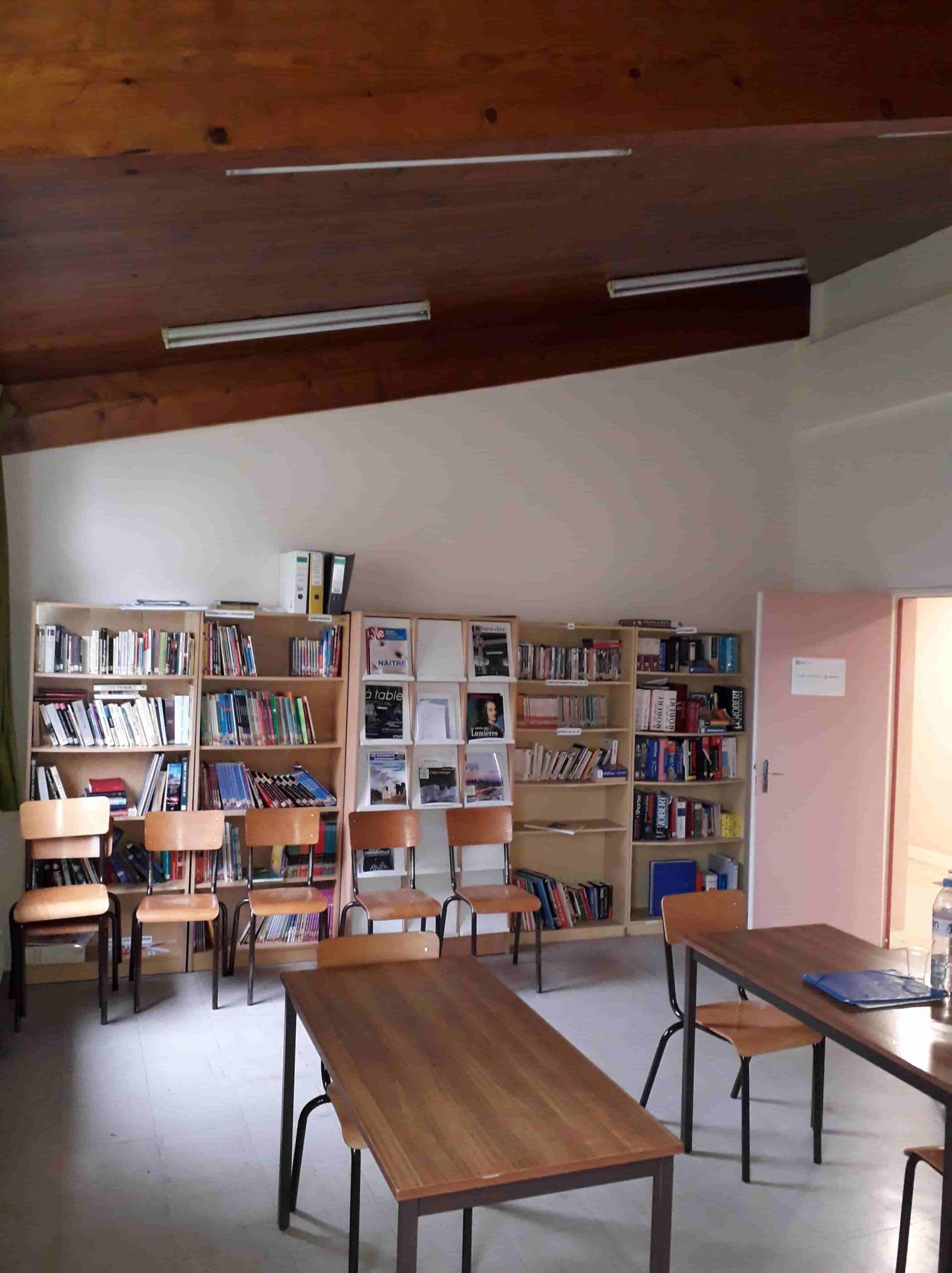 École Les Cèdres - Salle de classe