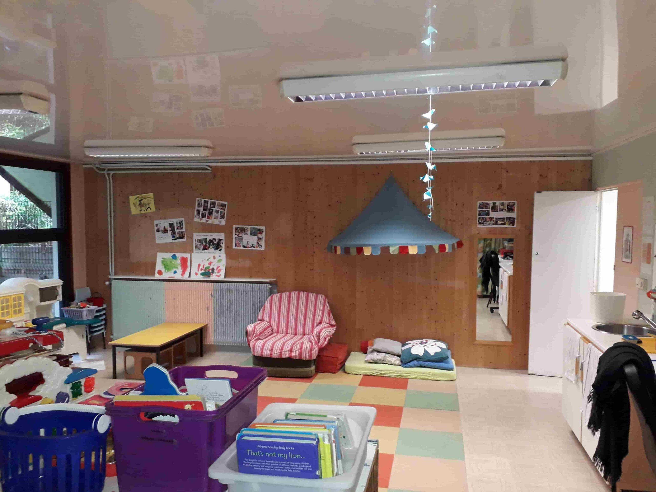 École Les Cèdres - Salle de jeux