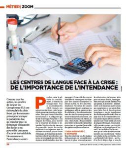 Article le français dans le Monde-page1