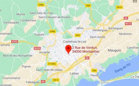 2 rue de Verdun 34000 Montpellier – France
