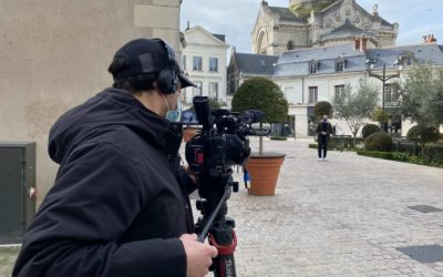 TV5 Monde filming at CLE