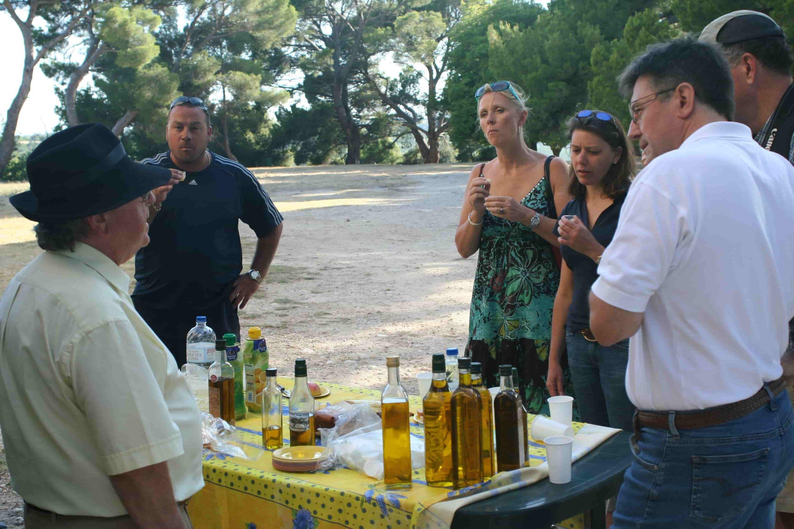 École CREA-Langues-Dégustation d'huile d'olives