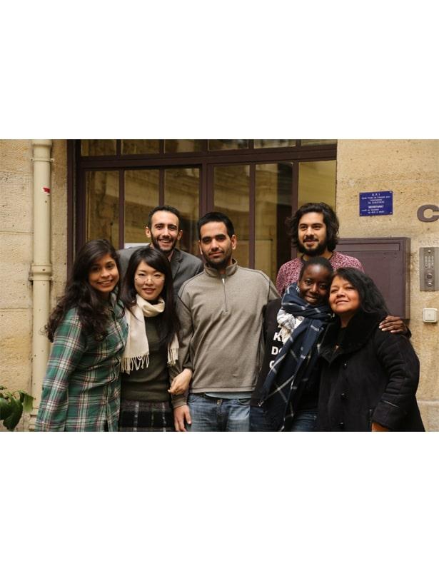 École EFI Paris- Devant l'entrée
