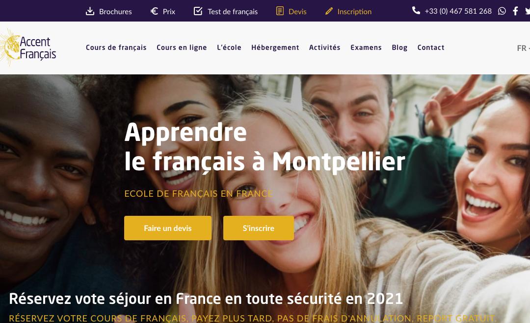 Accent Français lance son nouveau site internet !