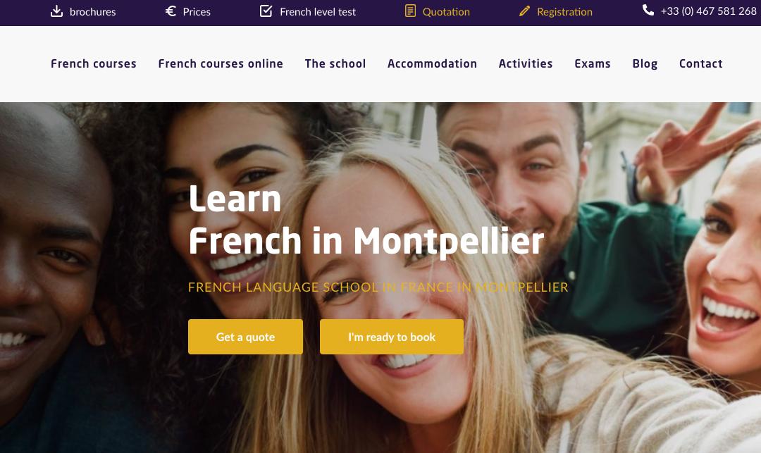 Accent Français launches its new website!