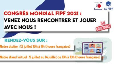 Congrès Mondial FIPF : jeu concours du Groupement FLE