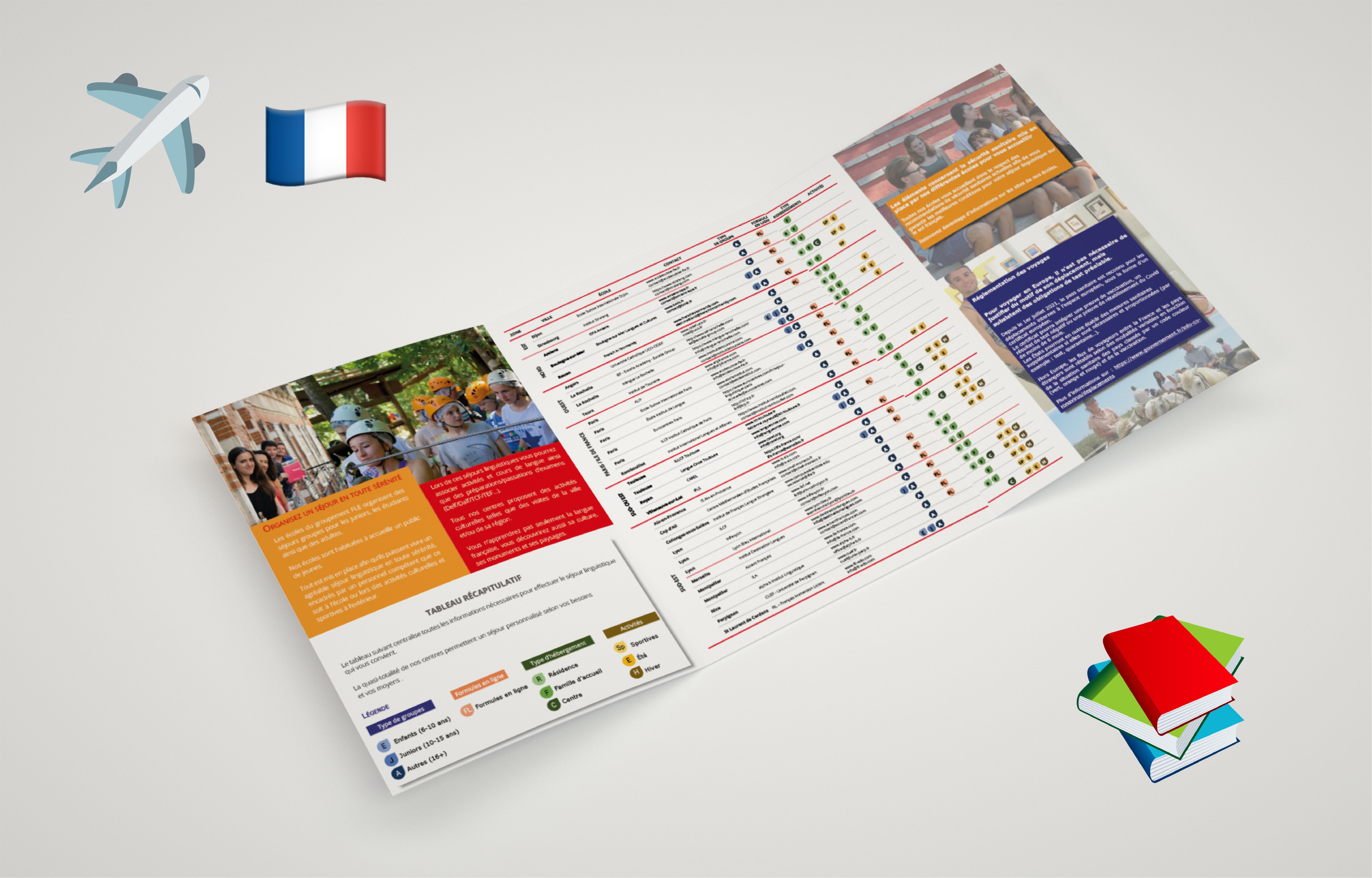 Nouvelle brochure groupes